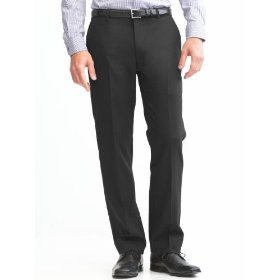 Banana republic slim fit solid pant