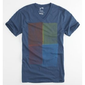 On the byas colorblock v-neck tee