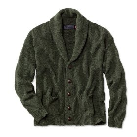 Pure cotton shawl cardigan