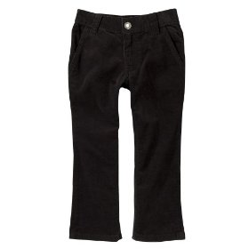 Infant toddler girls' cherokee® ebony corduroy pant