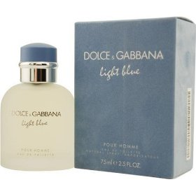 D & g light blue by dolce & gabbana for men eau de toilette spray, 4.2-ounces