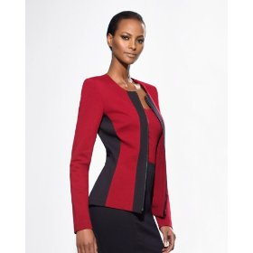 Shape fx the hold you in sculpting power ponte jacket