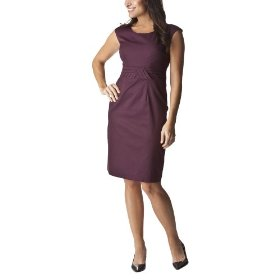 Merona® collection women's kaelyn dress - plum passion