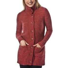 Merona® women's button cardigan sweater - red combo