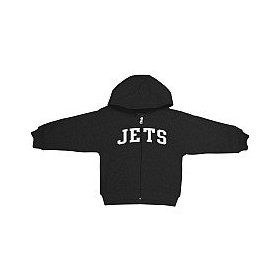 Reebok new york jets infant full zip hooded sweatshirt
