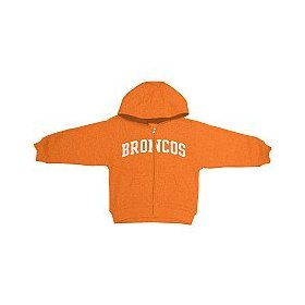 Reebok denver broncos infant full zip hooded sweatshirt