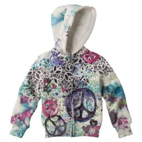 Girls' xhilaration® woobie hoodie sweatshirt - white