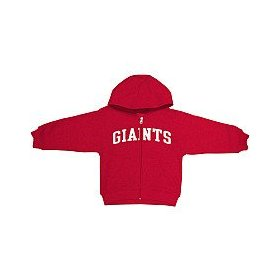 Reebok new york giants infant full zip hooded sweatshirt