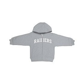 Reebok oakland raiders infant full zip hooded sweatshirt