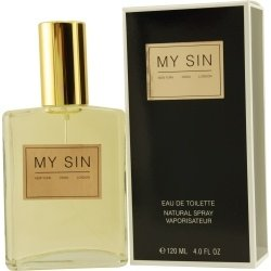 MY SIN EDT SPRAY 4 OZ WOMEN