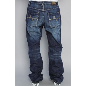 Lrg the milestone classic 47 jean in indigo,denim for men