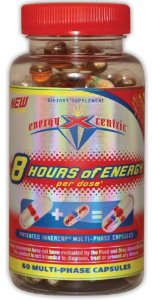 EnergyXcentric 8 Hours of Energy, 60 Multi-Phase Capsules
