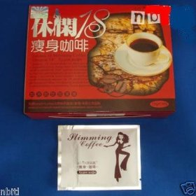 4 boxes leisure slim slimming coffee weight loss diet