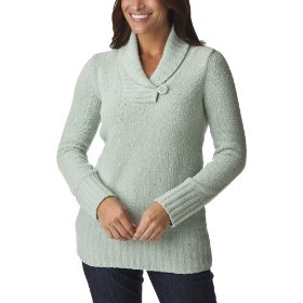 Merona® women's chenille shawl collar pullover sweater - revere green
