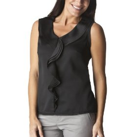 Merona® collection women's satin klara top - black