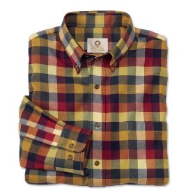 Viyella® color-block shirt
