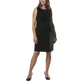 Liz lange® for target® maternity sleeveless ponte dress -ebony xs