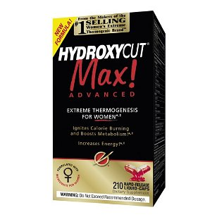 Hydroxycut max advanced - extreme thermogenic for women