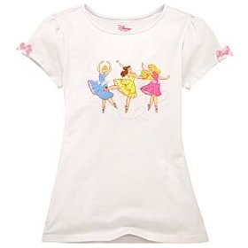 Ballerina disney princess tee