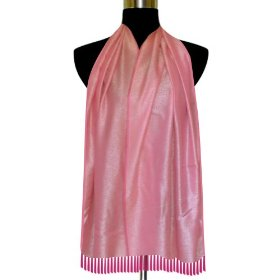 Best selling handmade self design semi silk rectangular scarf, a gift for her scrf0045r