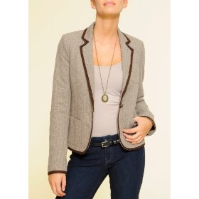 Mango women's fitted blazer