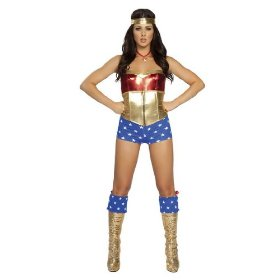 Wonder woman sexy adult womens halloween costume outfit