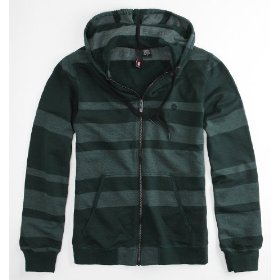 Element thurlow hoodie - green x lrg