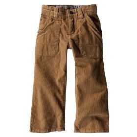 Infant toddler boys' genuine kids from oshkosh brown workwear cord pant