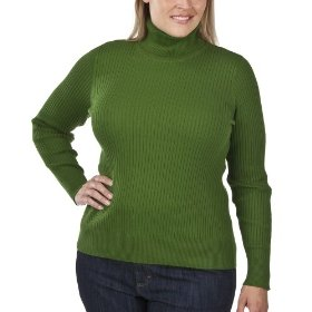 Women's plus-size merona® rosemary long-sleeve turtle-neck sweater