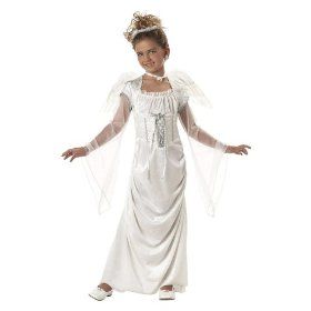 Glorious angel child costume