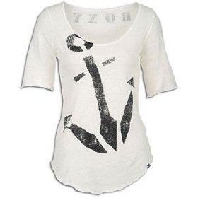 Roxy anchors true shirt - short-sleeve - women's