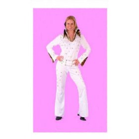White rock star vegas costume for women (see product notes on jewels)