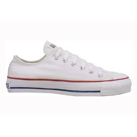 Converse chuck taylor all star lo top optical white canvas