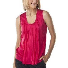 Mossimo® women's satin sleeveless top - brilliant pink