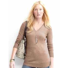 Banana republic merino v-neck