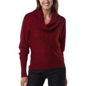 Mossimo® women's cowl neck sweater - garnet