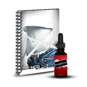 43 day hcg drops - complete kit - hcg diet info book - 500 vlcd meal plan - hcg diet recipes - plate