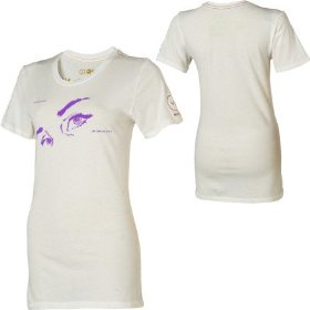 Rvca there are secrets t-shirt - short-sleeve - women's