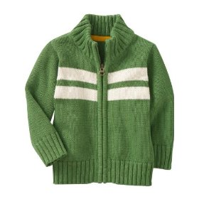 Old navy mock-neck zip cardigans for baby
