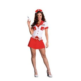 Anita shot womens nurse halloween costume