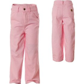Carhartt washed dungaree pant - infant girls'