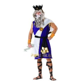 Zeus greek mythology costume adult