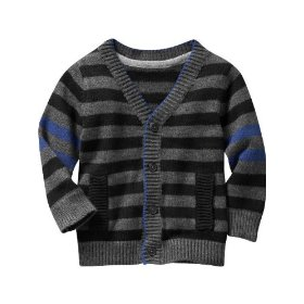 Gap striped grandpa cardigan