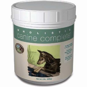 Wholistic Pet Canine Complete Organic Supplement 8lb
