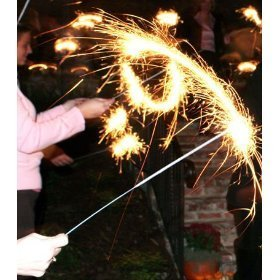 20 inches wedding sparklers decorations (108 wedding sparklers)
