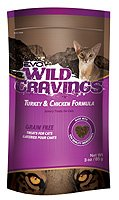 Evo Wild Cravings Turkey/Chicken Cat Treat