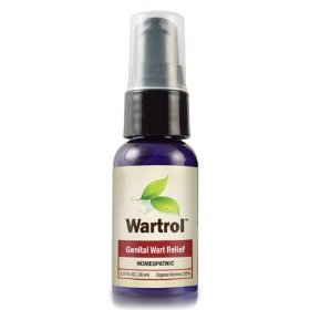Wartrol (1 oz spray) homeopathic genetal wart relief (1 bottle)