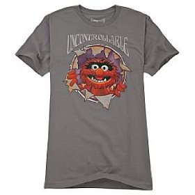 Disney organic uncontrollable animal tee