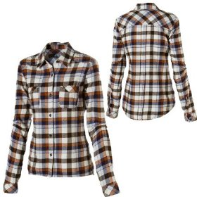 Volcom lowlyfe flannel shirt - long-sleeve - women's