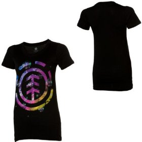 Element bubbles t-shirt - short-sleeve - women's